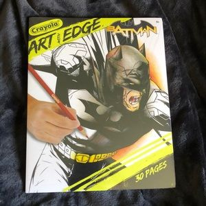 """4 for $20"" Crayola Art with Edge Batman"